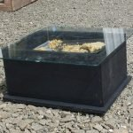We made a Solar Wax Extractor