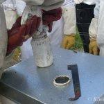Checking your Varroa Treatments with a Sugar Shake