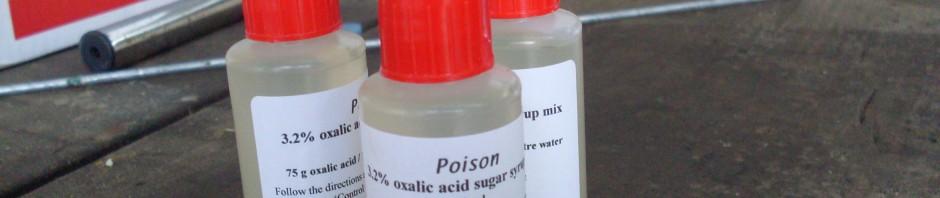 Paul Bs Oxalic Premix Bottles