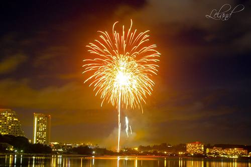 Happy New Year - Fireworks