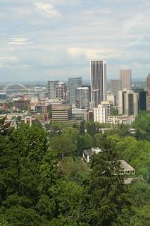 Image Credit: Portland, from the tram by Rachael Voorhees