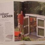 How to build an outdoor locker