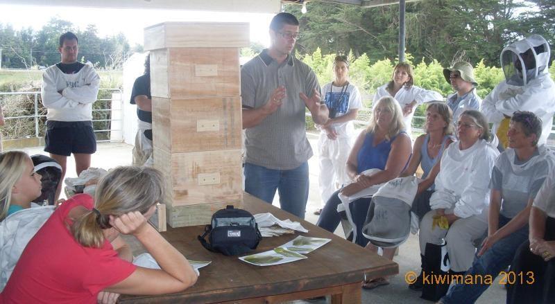 Daniel talks Warre Hives at the Natural Beekeeping Conference