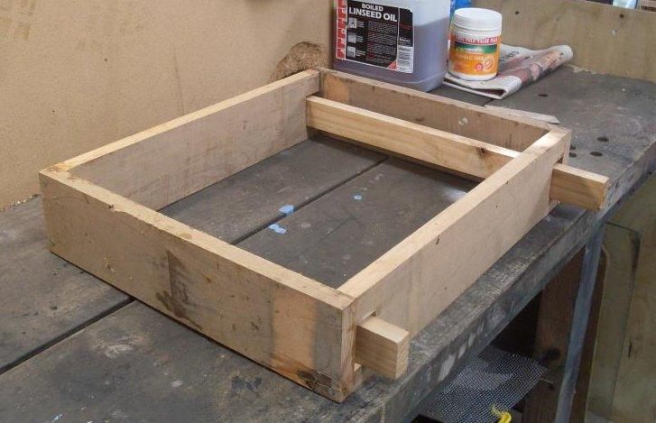 Frame Building Jig - Using One to Build Frames For Your Bees