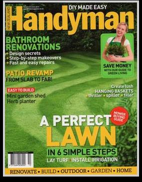 NZ Handyman October 2013 Cover