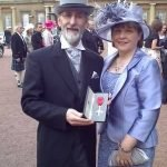 INIB chairman Michael Young received his MBE from Her Royal Magesty the Queen today Friday 27/3/09
