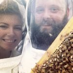 Lauren and Andy from Jennings Apiaries