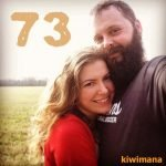 The team at Jennings Apiaries – Aaron and Lauren – KM073