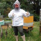 Ventilated Beekeeping Jacket Beekeeping in shorts