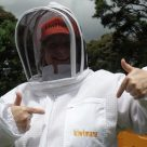 Ventilated Beekeeping Jacket  and Margaret