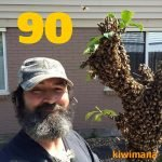 The Honeybee Removal King…JP the Beeman – KM090