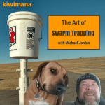 Swarm Trapping bees with a Mobile Swarm Trap – Michael Jordan – KM104