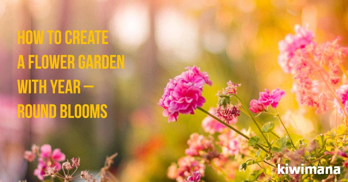 Flowers That Bloom Year Round Round Designs