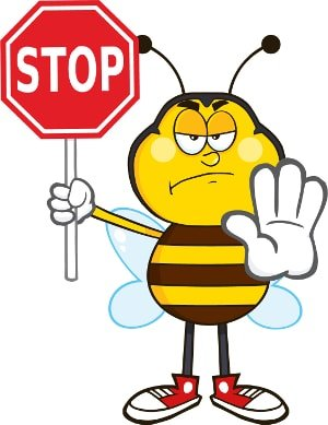 how to stop boring bees